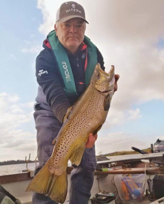 La pêche de la truite en Irlande, le Lough Gowna