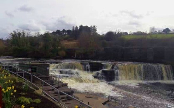 La rivière Ballisodare, Irlande.