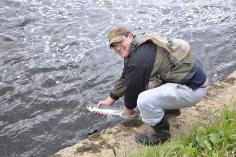 La rivière Feale, Irlande