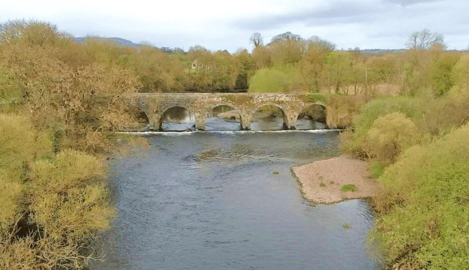 La pêche du saumon en Irlande, riviere Blackwater de Munster