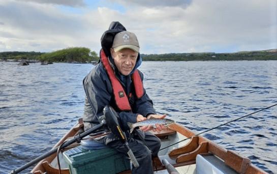 La pêche de la truite sur le Lough Conn