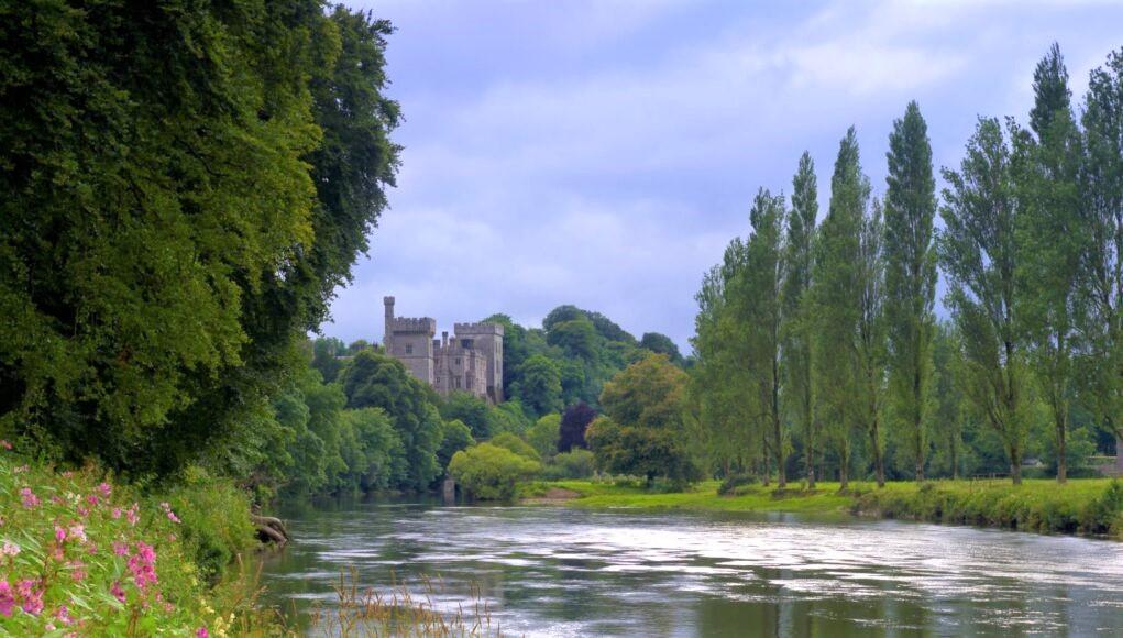 La riviere Blackwater de Munster a Lismore