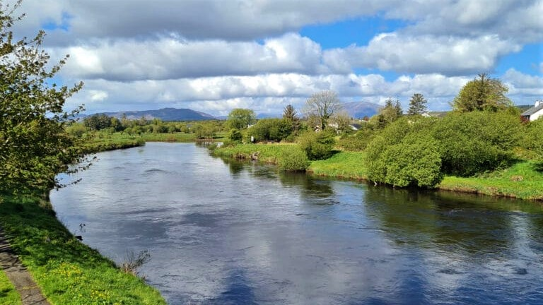La belle rivière Moy