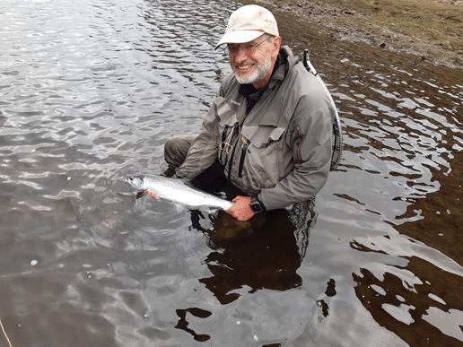 La pêche du saumon en Irlande sur la rivière Moy.