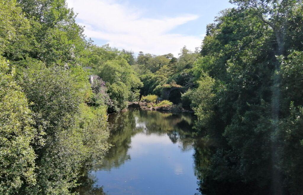 La pêche du saumon dan sle Kerry, la rivière Glenngarriff