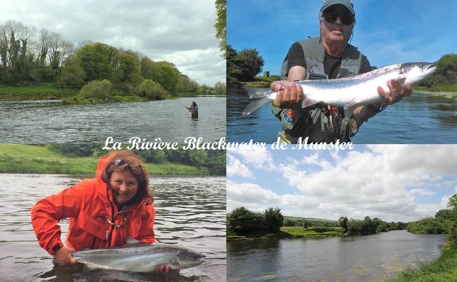 La rivière Blackwater de Munster, Irlande.