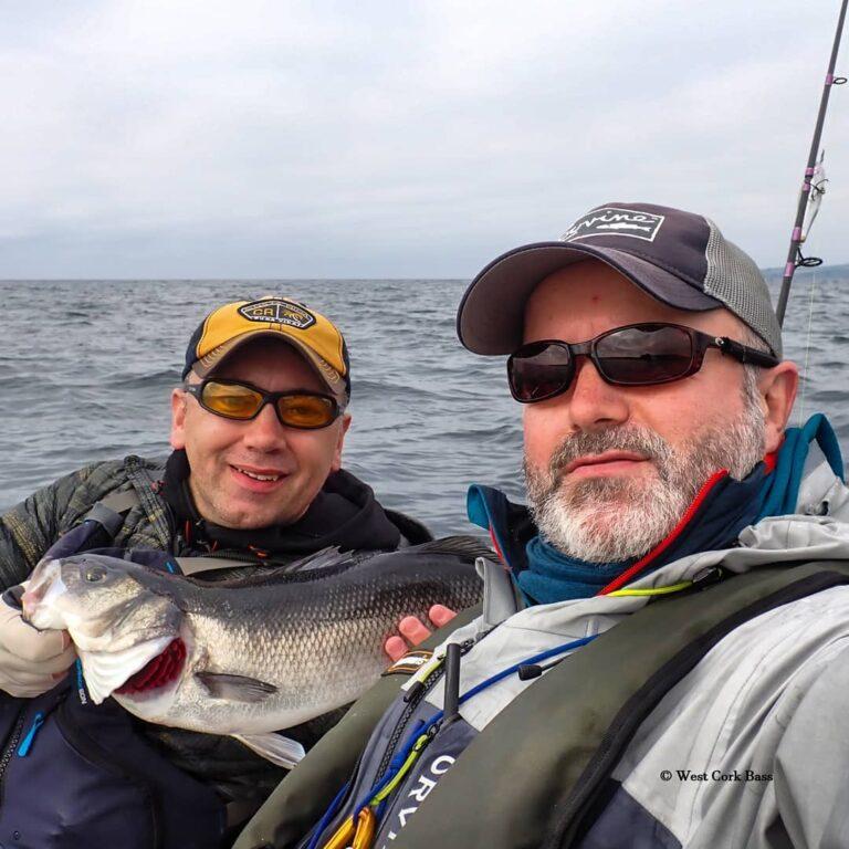 La pêche au bar en Irlande dans le West Cork